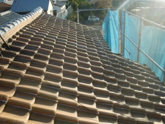 泉佐野市の屋根の修理完了