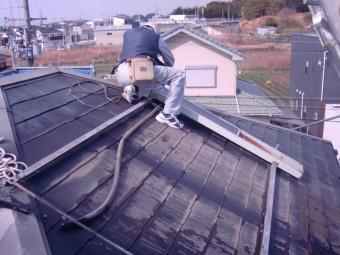 岸和田市尾生町のソーラー解体