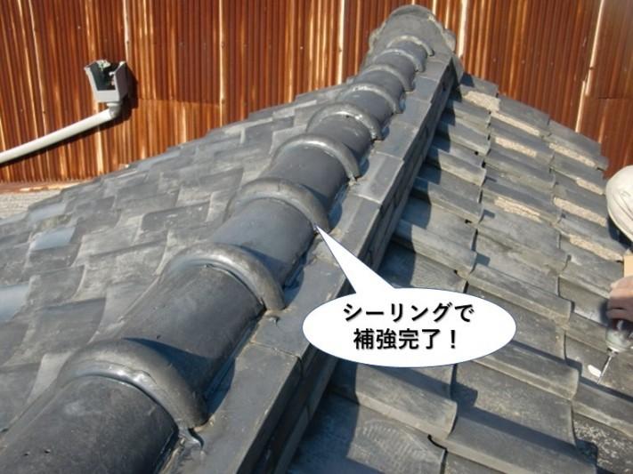 和泉市の棟をシーリングで補強完了