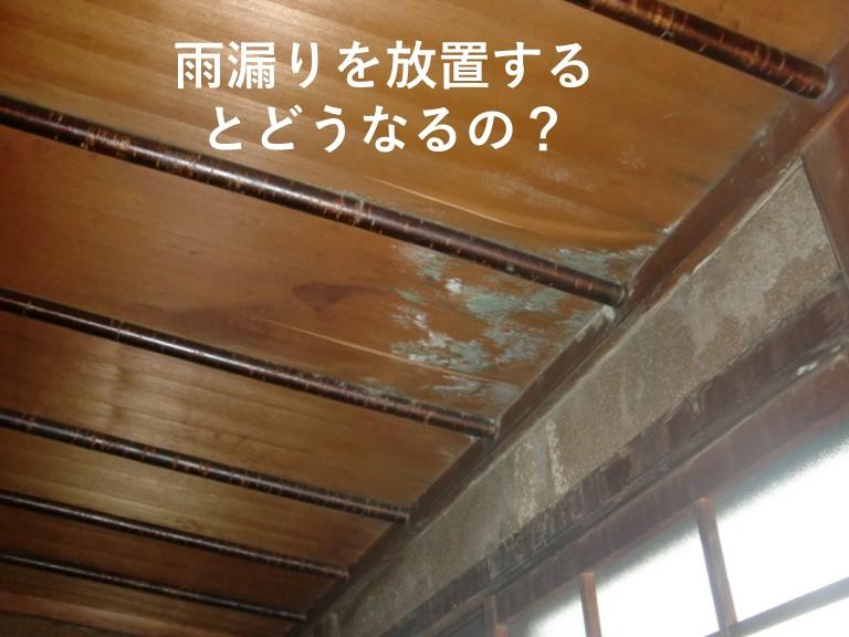 阪南市の雨漏り