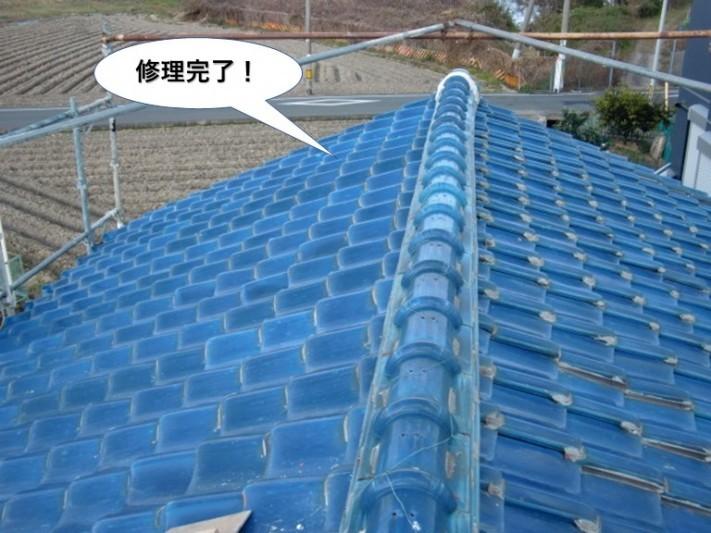 岸和田市の修理完了