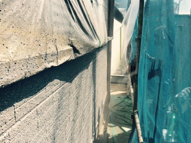 岸和田市西之内町の外壁アーバントーン